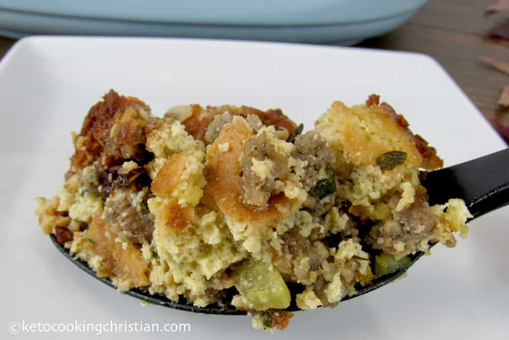 Thanksgiving Stuffing - Keto, Low Carb & Gluten Free