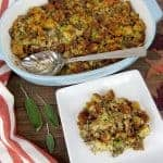 Herbed Sausage Stuffing - Keto, Low Carb & Gluten Free