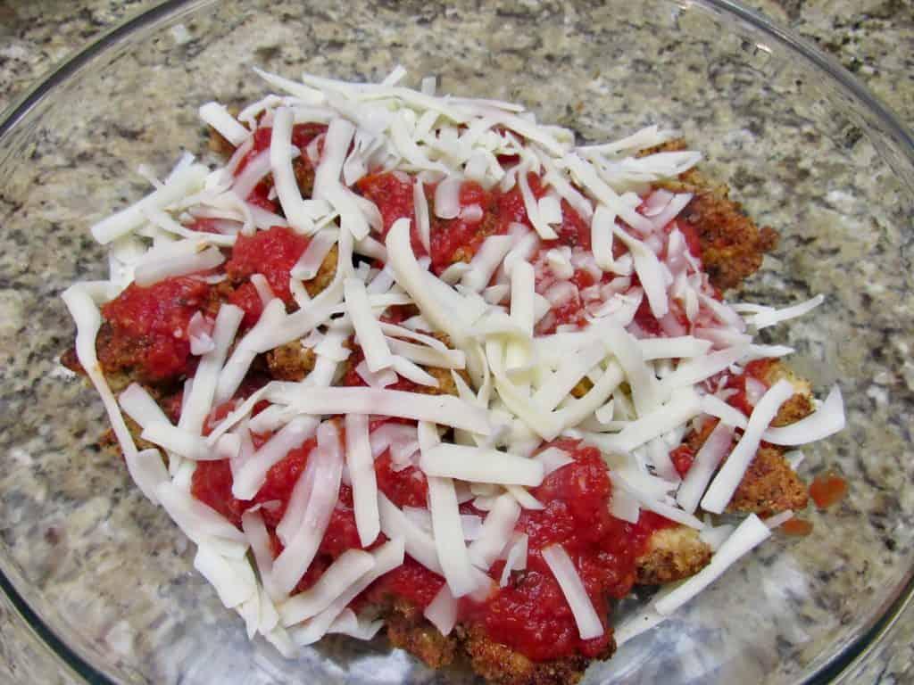 Chicken Parmesan Casserole - Keto, Low Carb & Gluten Free
