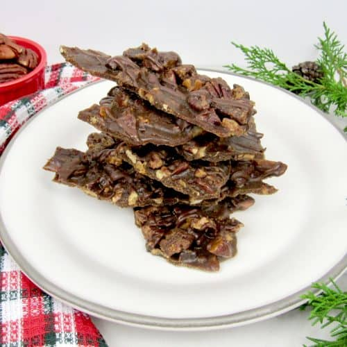 Pecan Praline Bark - Keto, Low Carb & Sugar Free