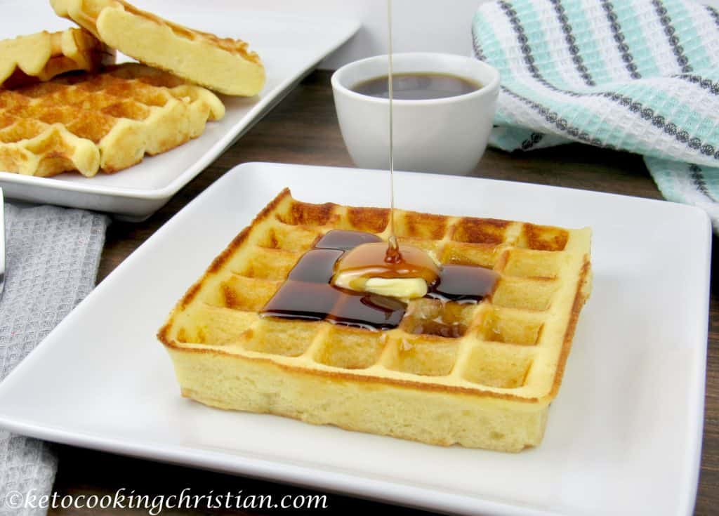 Homemade Waffles - Keto, Low Carb & Gluten Free