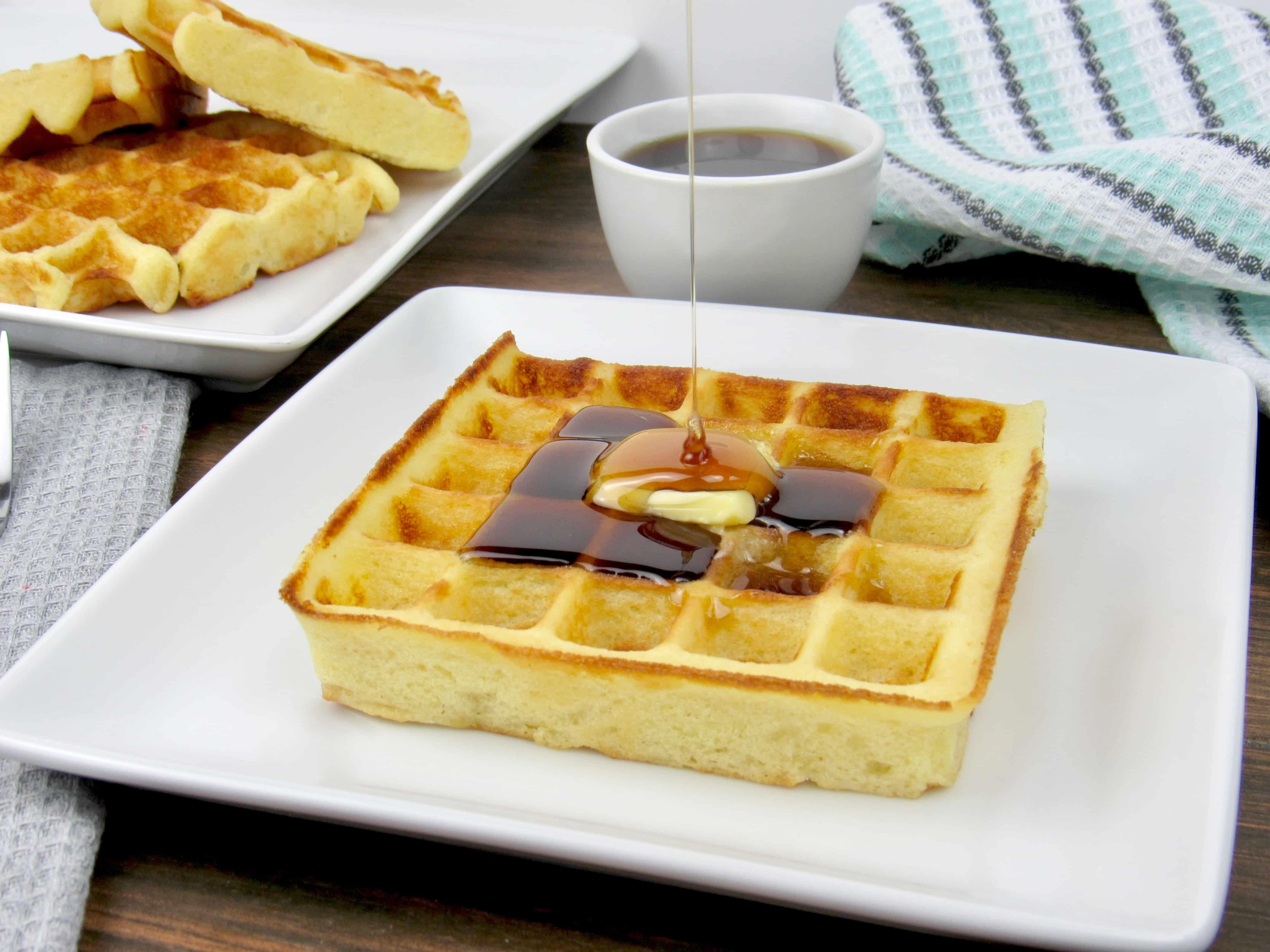 Belgian Waffles - Keto, Low Carb & Gluten Free