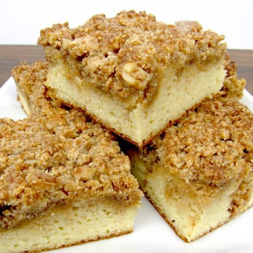 Coffee Crumb Cake - Keto, Low Carb & Gluten Free
