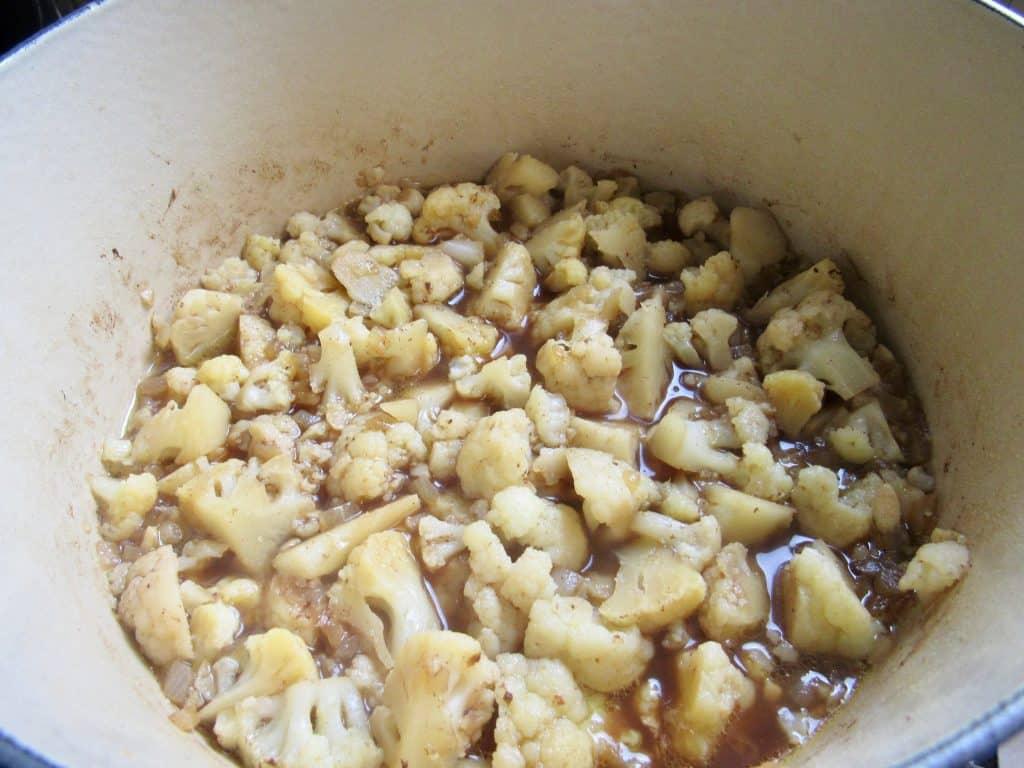 Smoked Sausage & Cauliflower Cheddar Soup - Keto and Low Carb