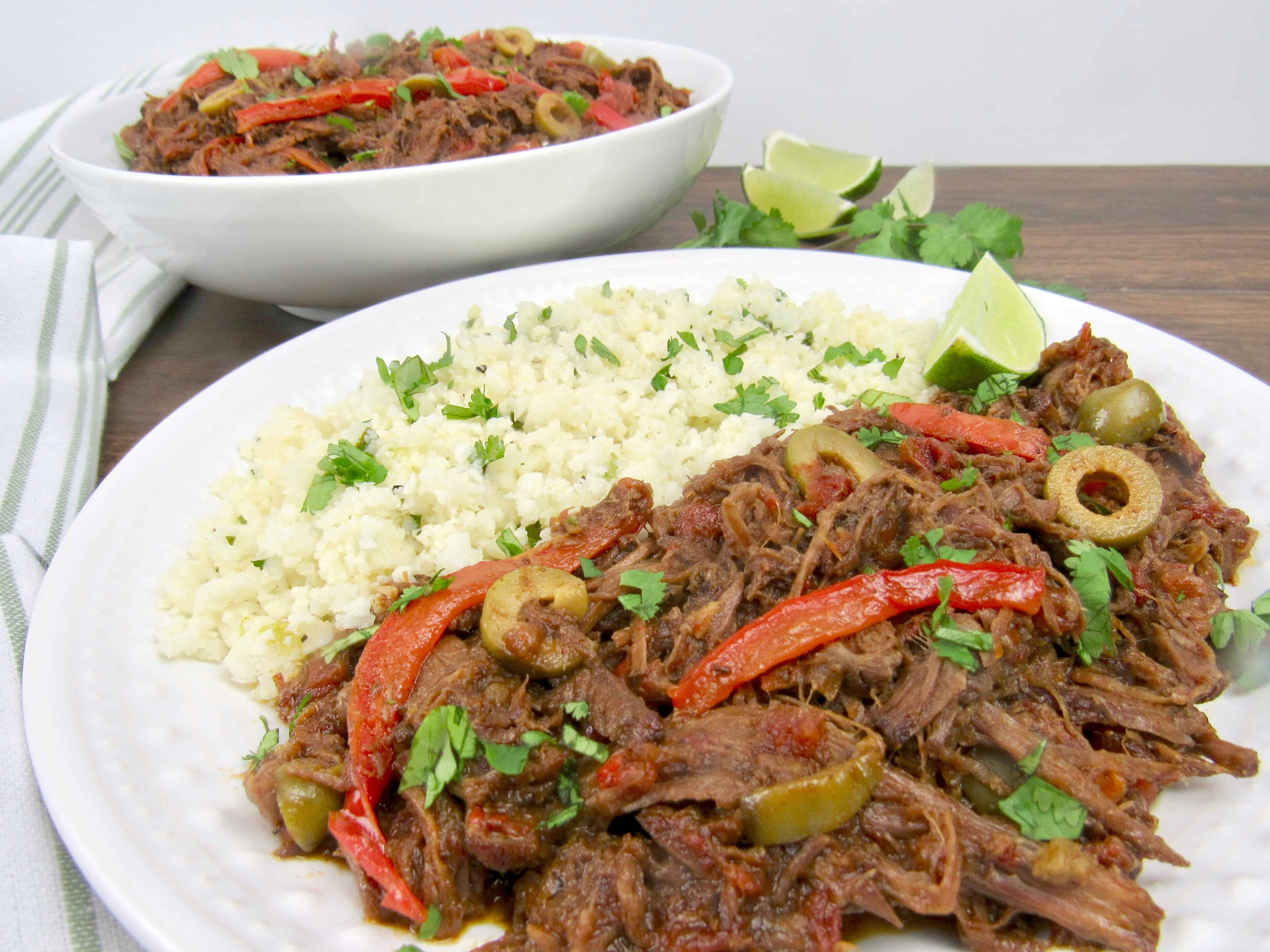 Instant Pot Ropa Vieja - Keto and Low Carb