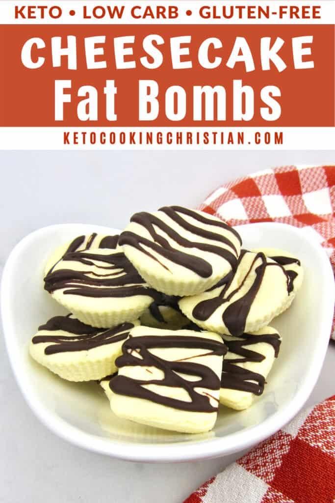 PIN Keto Cheesecake Fat Bombs