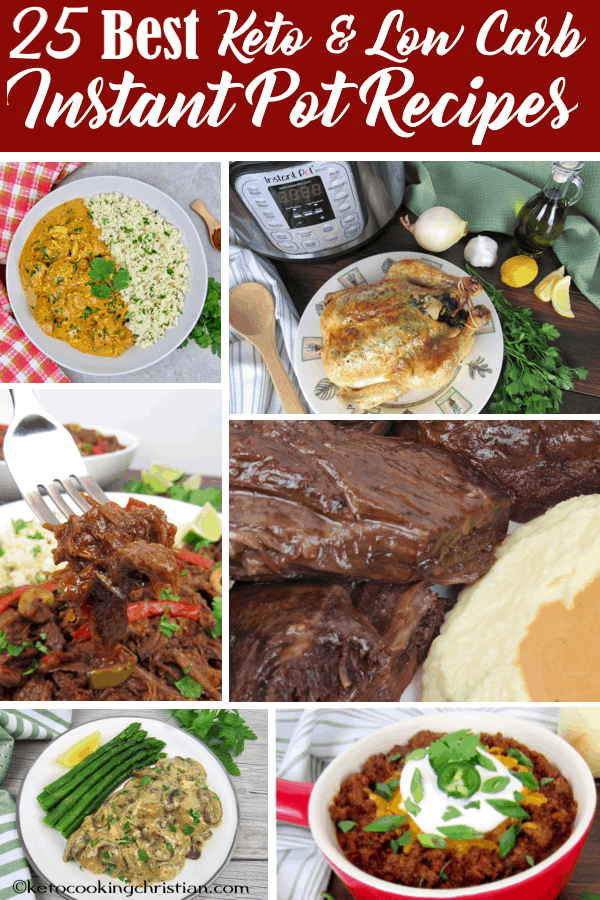 25 Best Keto and Low Carb Instant Pot Recipes