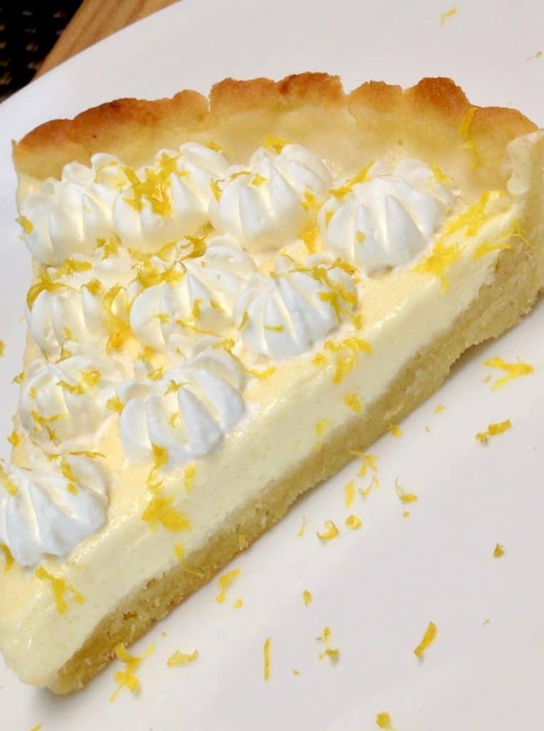 Lemon Mascarpone Tart – Keto, Low Carb, Sugar & Gluten Free