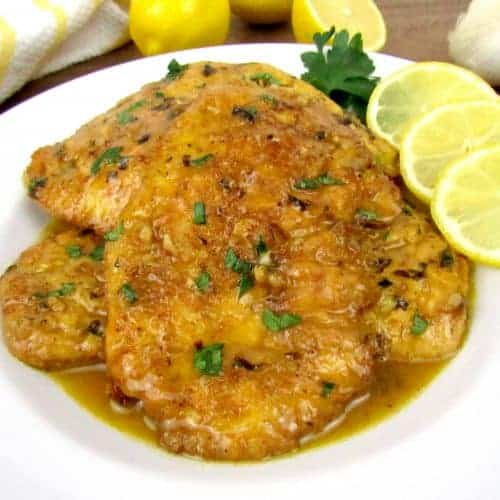 Chicken Francese- Keto and Low Carb