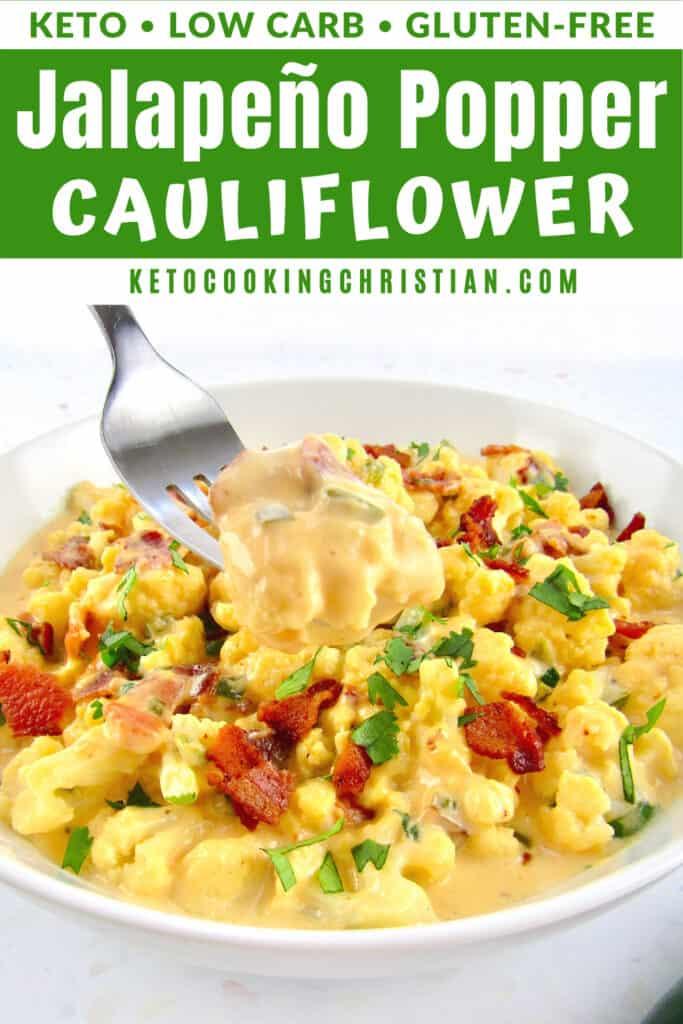 PIN Jalapeño Popper Cauliflower
