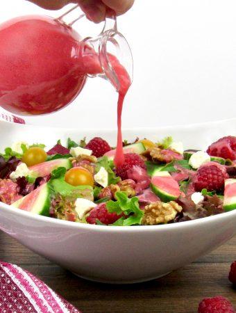 Raspberry Vinaigrette - Keto and Low Carb