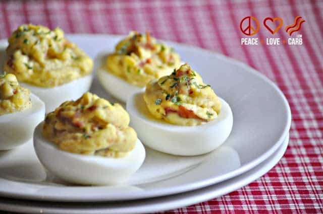 Bacon Deviled Eggs – Low Carb, Paleo