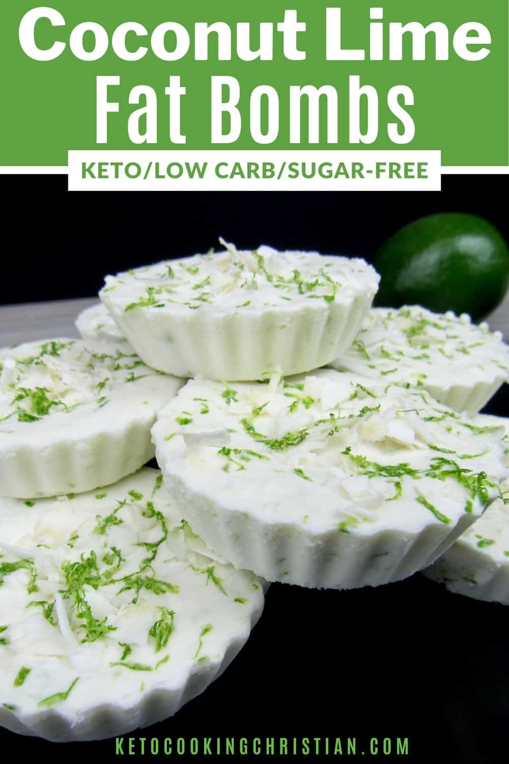 PIN coconut lime fat bombs