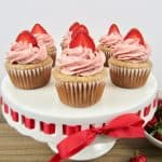 Strawberry Cupcakes - Keto, Low Carb & Gluten Free