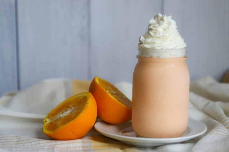 Creamy Keto Orange Creamsicle Ice Cream