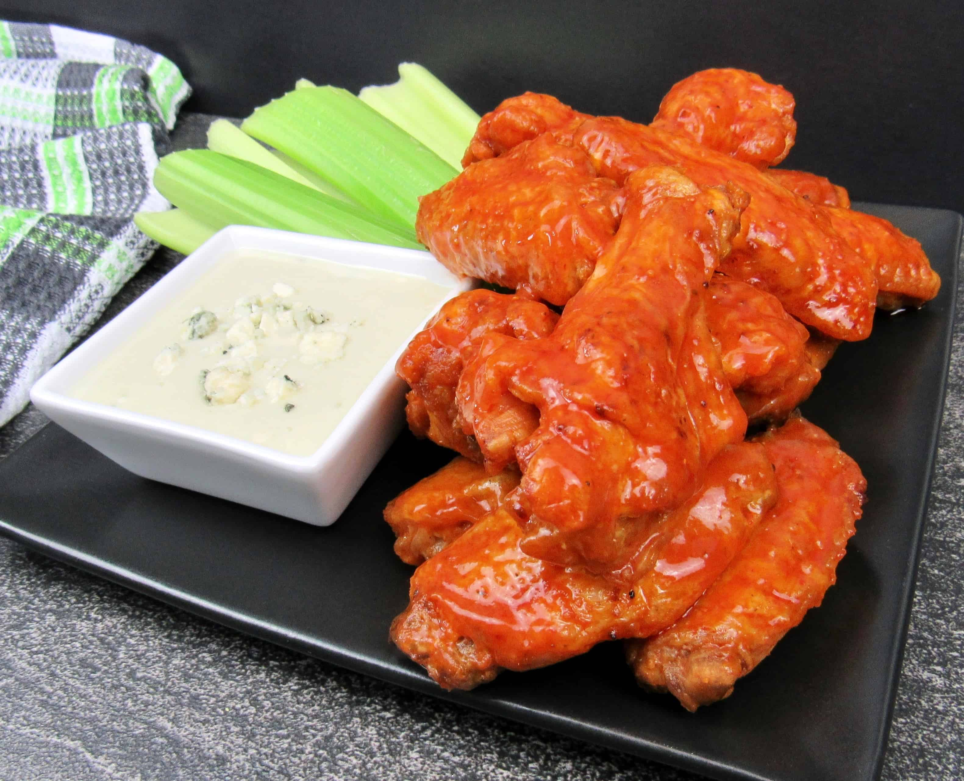 Crispy Air Fryer Buffalo Wings Keto And Low Carb Keto Cooking