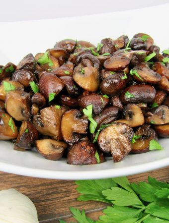 Easy Sautéed Mushrooms - Keto and Low Carb