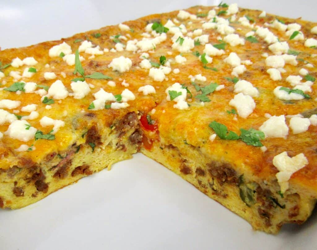 Mexican Breakfast Casserole - Keto/Low Carb