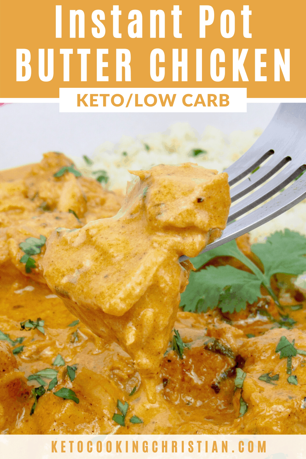 PIN Instant Pot Butter Chicken - Keto and Low Carb