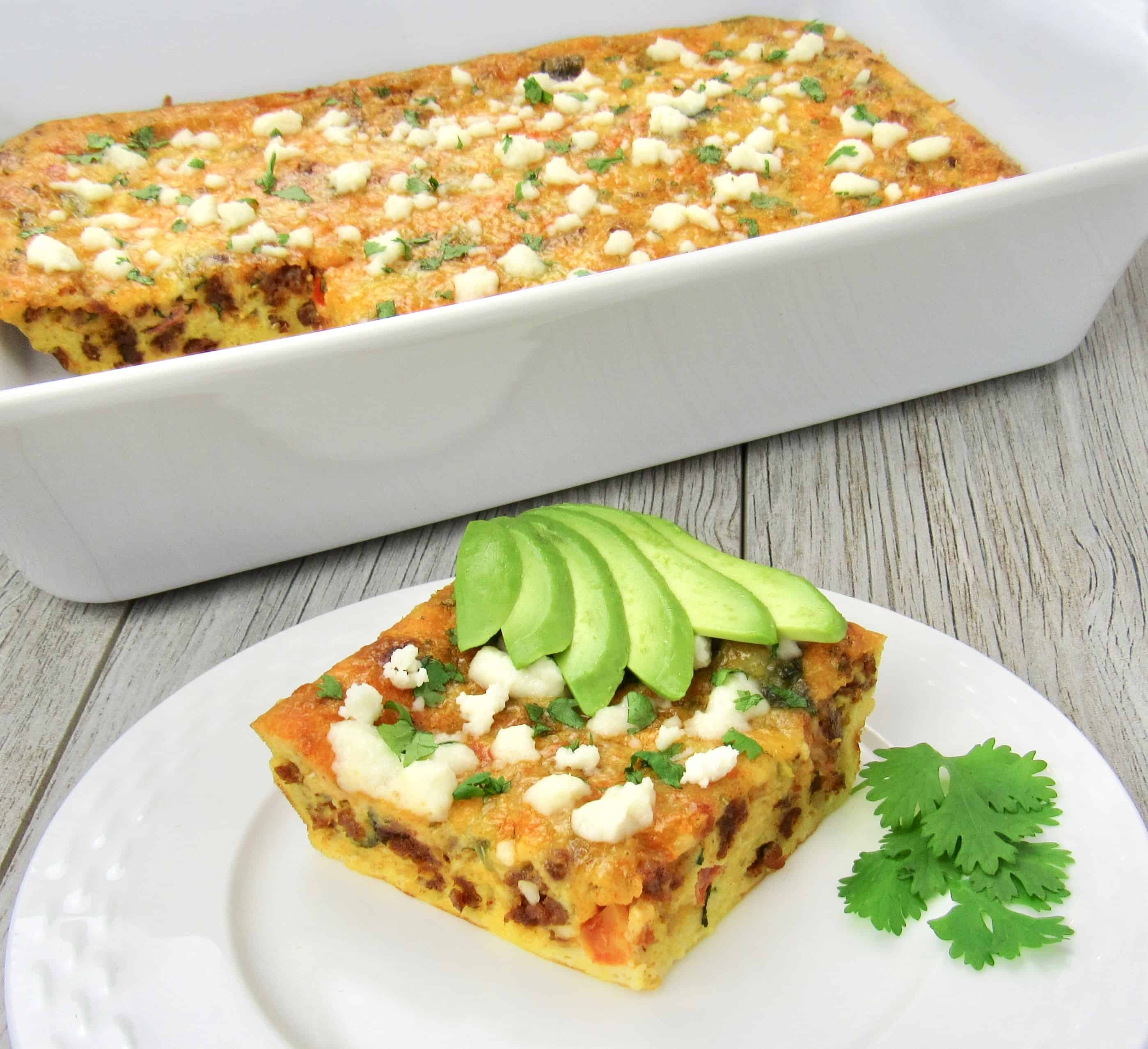 Mexican Breakfast Casserole - Keto:Low Carb