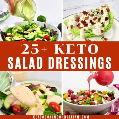 25+ Keto Salad Dressing Recipes