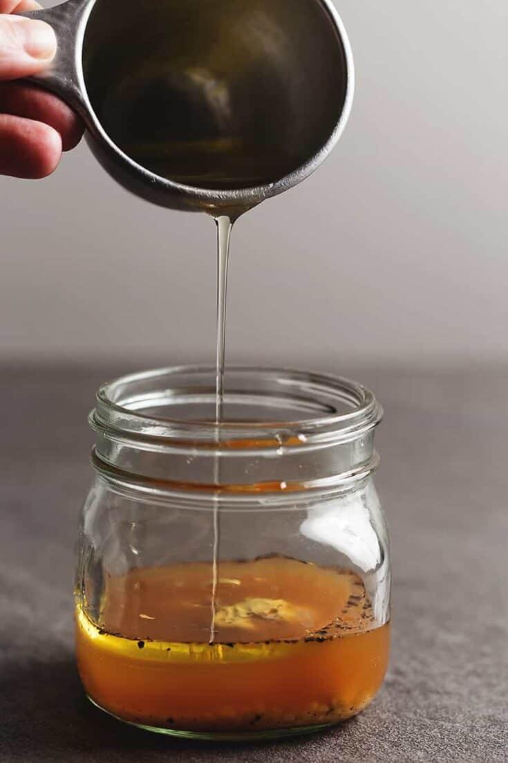 Apple Cider Vinegar Dressing • Low Carb with Jennifer