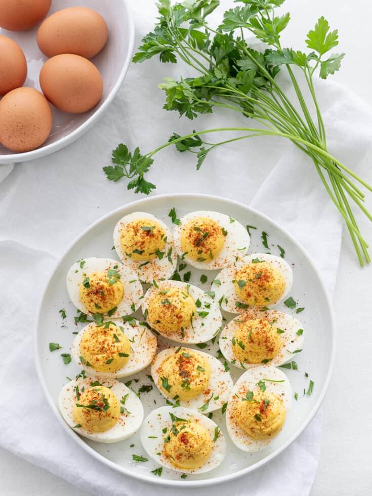 Easy Classic Keto Deviled Eggs