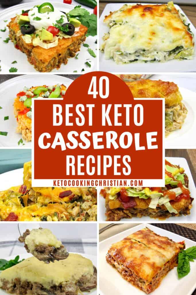 PIN 40 Best Keto Casseroles
