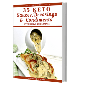 Keto Sauces, Dressings & Condiments 3D Cover