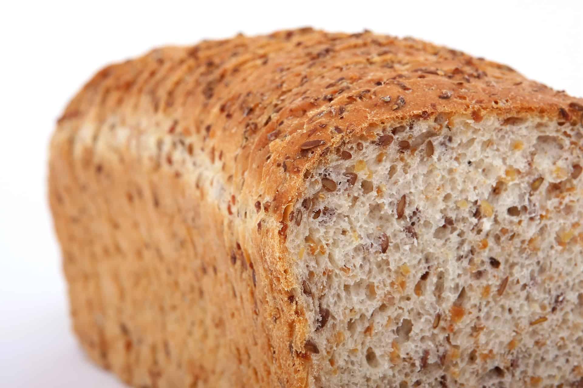 closeup of bread