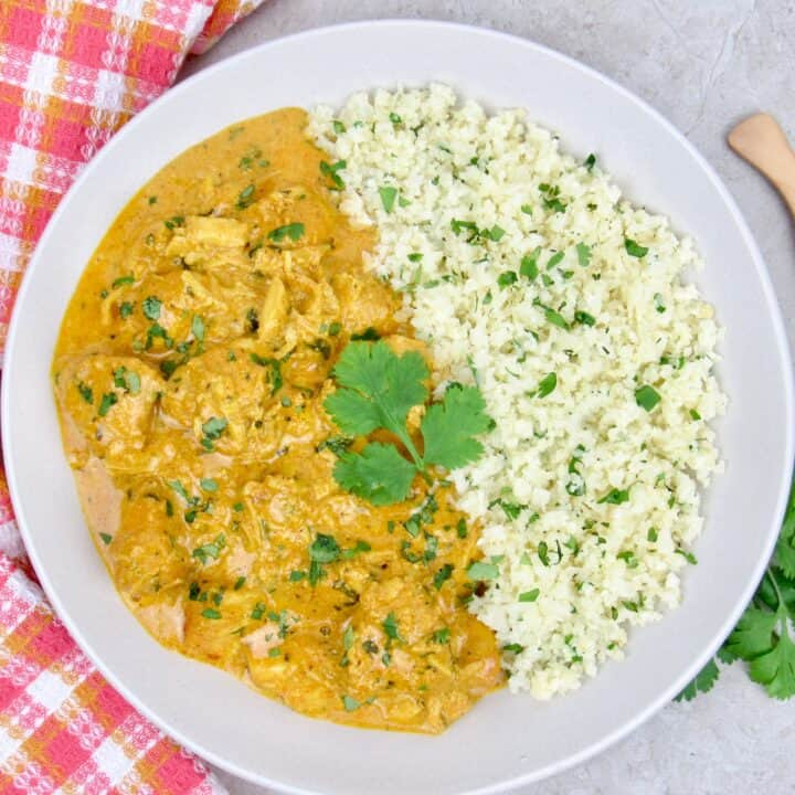Instant Pot Butter Chicken Keto and Low Carb