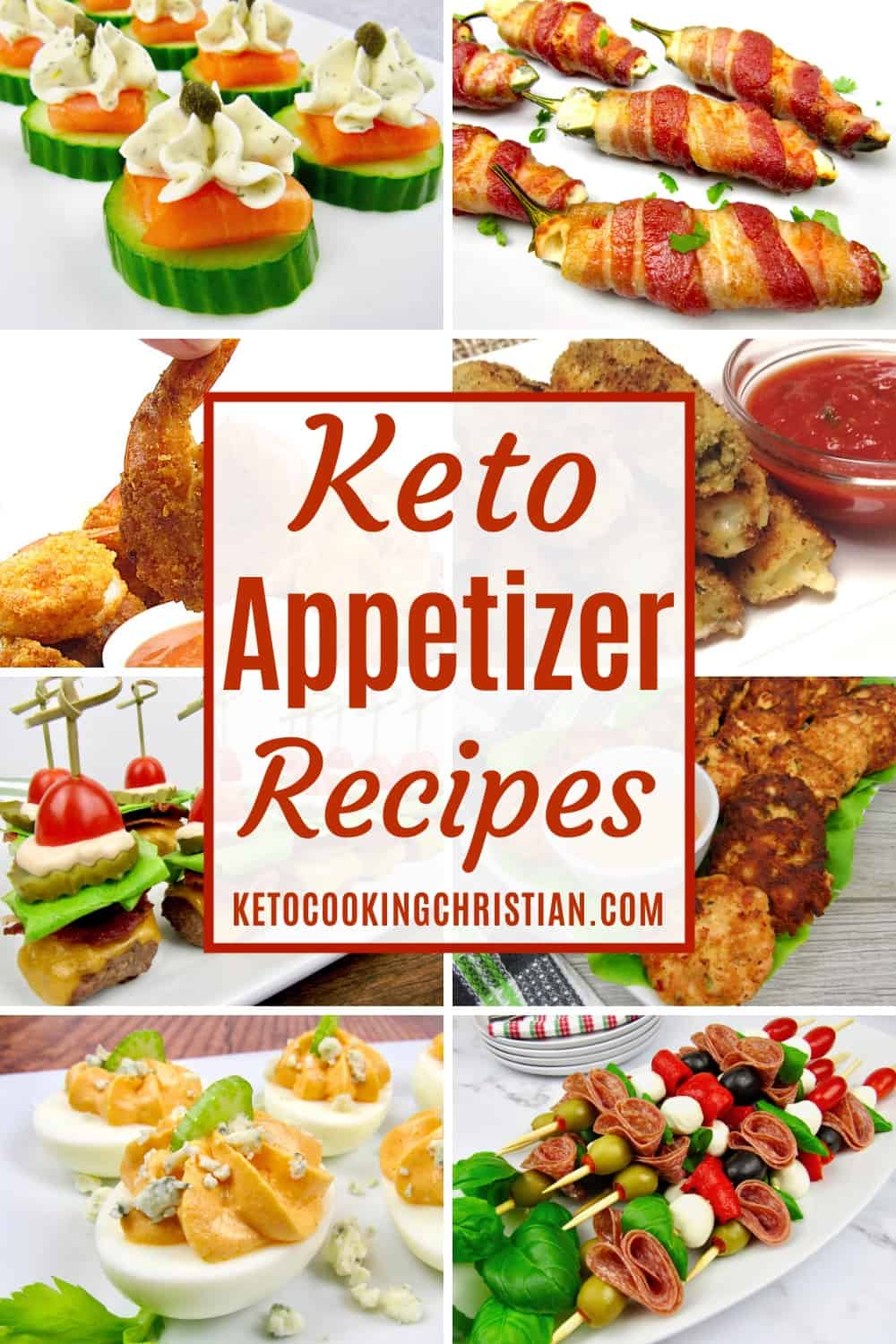 PIN Keto Appetizer Recipes
