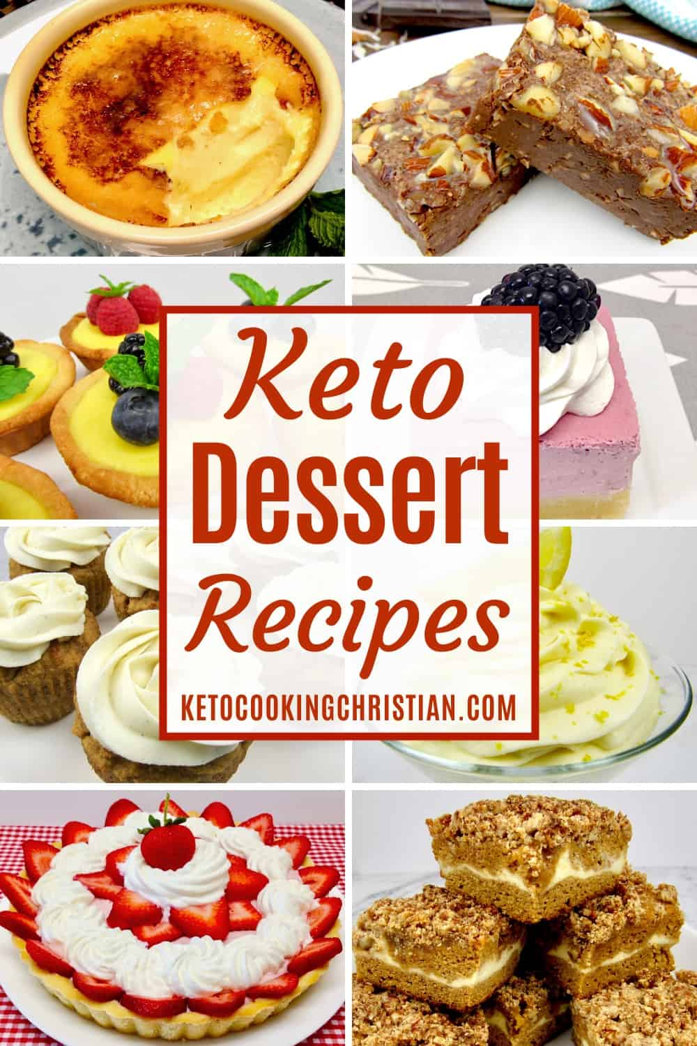 PIN Keto Dessert Recipes