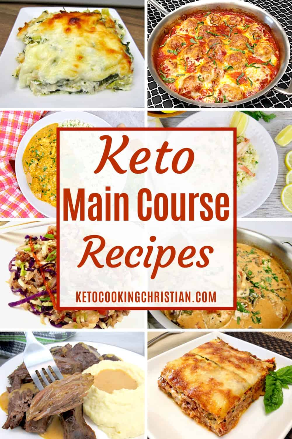 PIN Keto Main Course Recipes