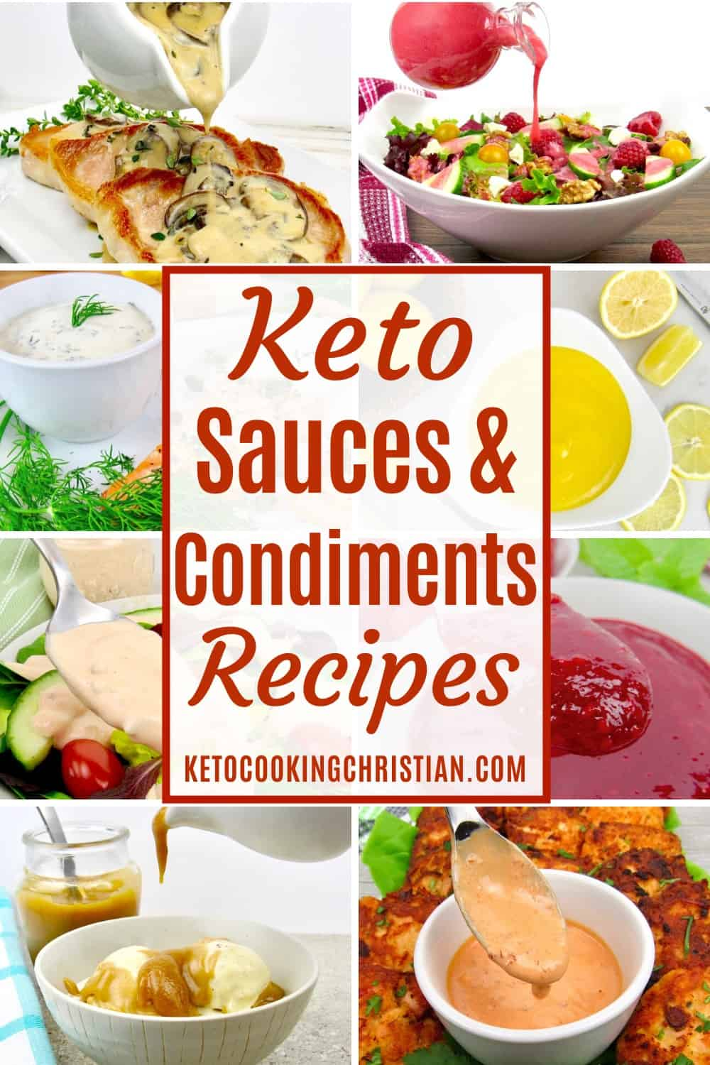 PIN Keto Sauces & Condiments Recipes