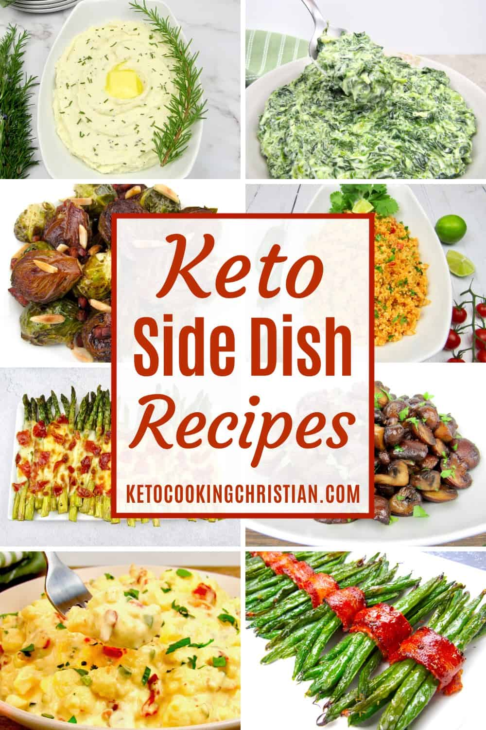 PIN Keto Side Dish Recipes
