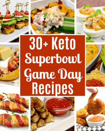 30+ Keto Superbowl / Game Day Recipes