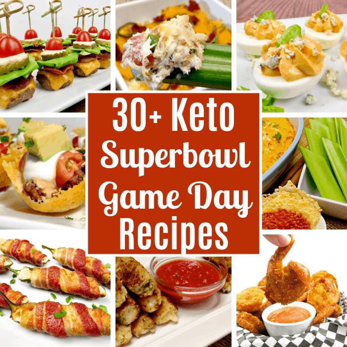 30 Keto Superbowl Game Day Recipes Keto Cooking Christian