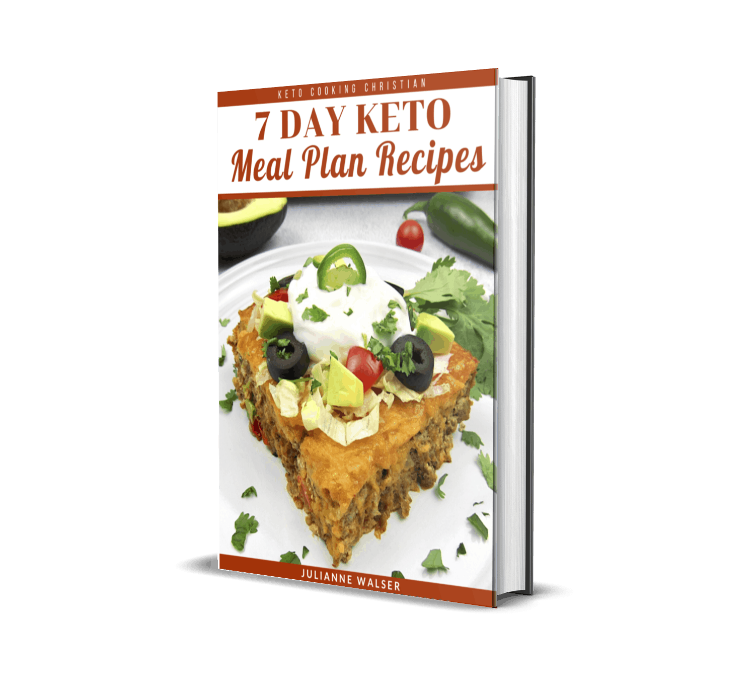 7 Day Keto Meal Plan Recipes eBook 3D Cover