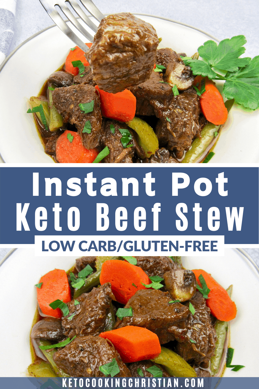 PIN Keto Instant Pot Beef Stew