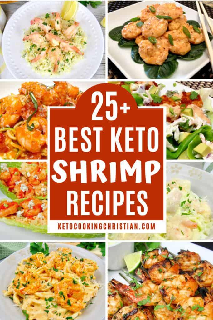 PIN 25+ Best Keto Shrimp Recipes
