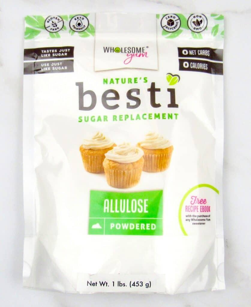 Besti allulose packaging