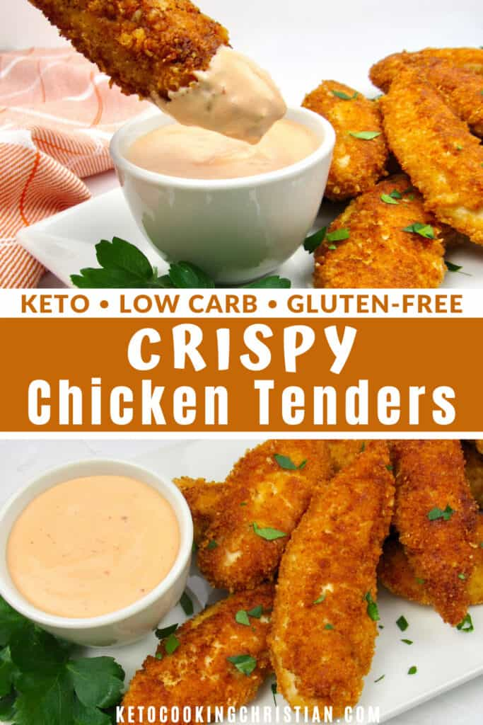 PIN Keto Chicken Tenders - Gluten Free