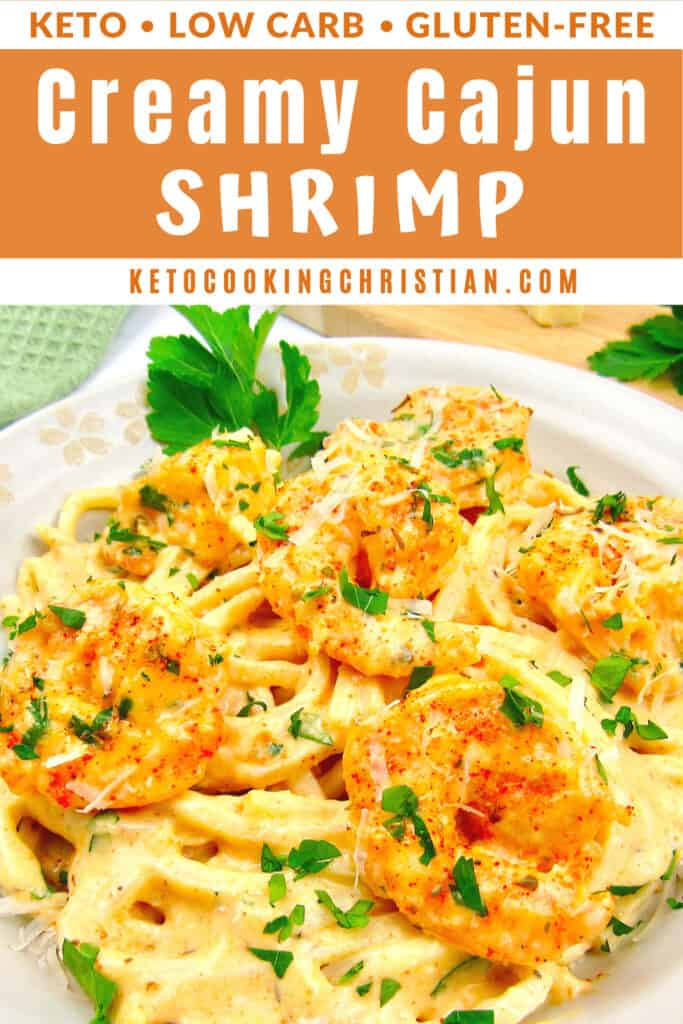 PIN Creamy Cajun Shrimp