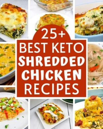 25+ Best Keto Shredded Chicken Recipes