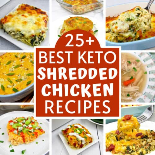 25+ Best Keto Shredded Chicken Recipes
