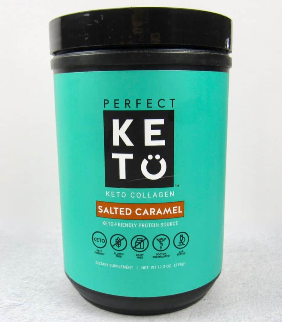 Perfect Keto Salted Caramel Collagen