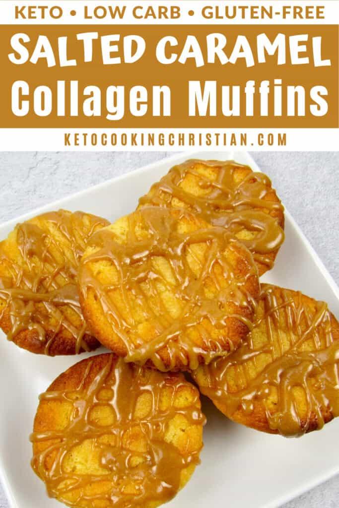 PIN Keto Salted Caramel Collagen Muffins - Gluten-Free