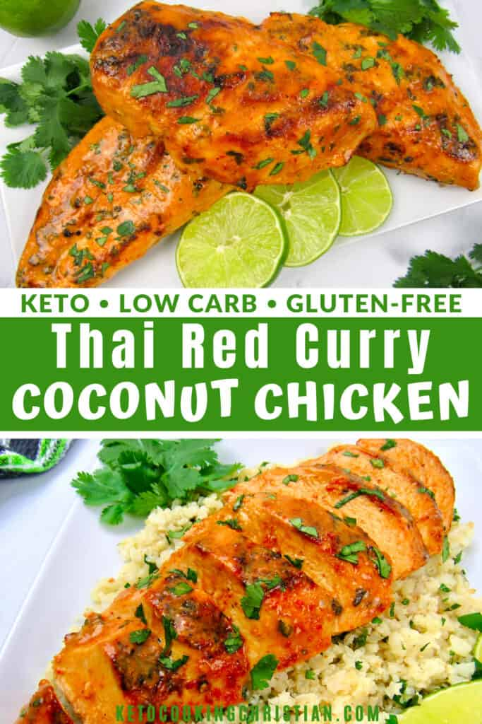 PIN Thai Red Curry Coconut Grilled Chicken