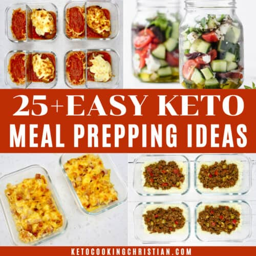 Easy Keto Meal Prepping Ideas